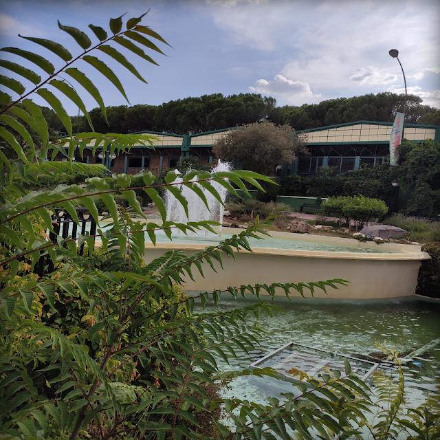 Paisaje parque de atracciones Madirex