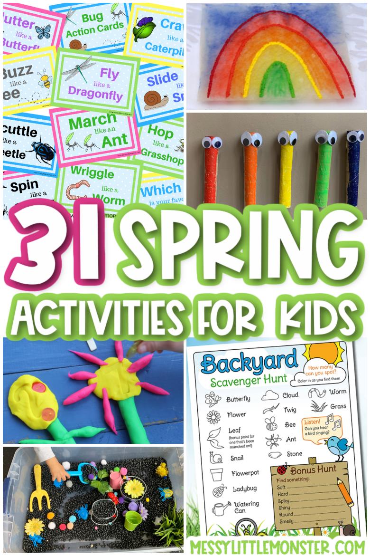 31 Spring activities for kids