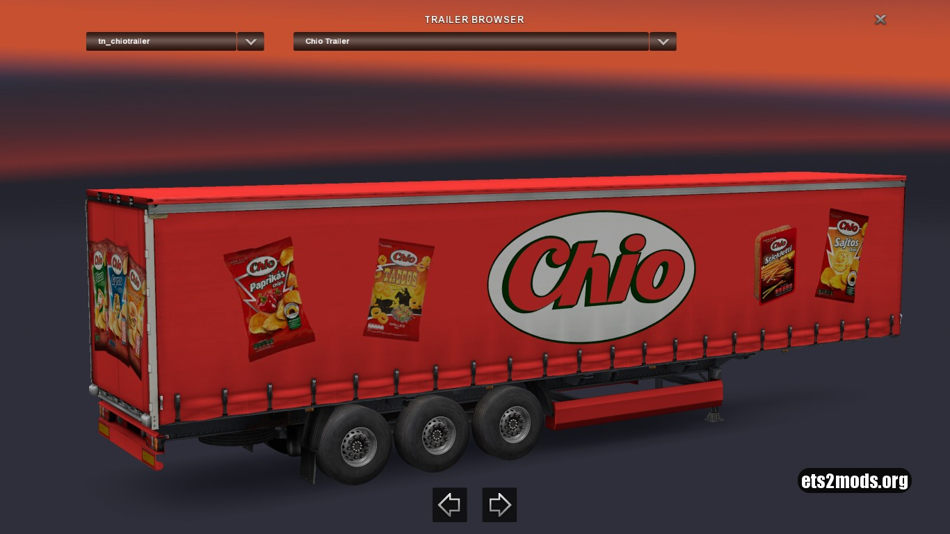 Standalone Chio Trailer