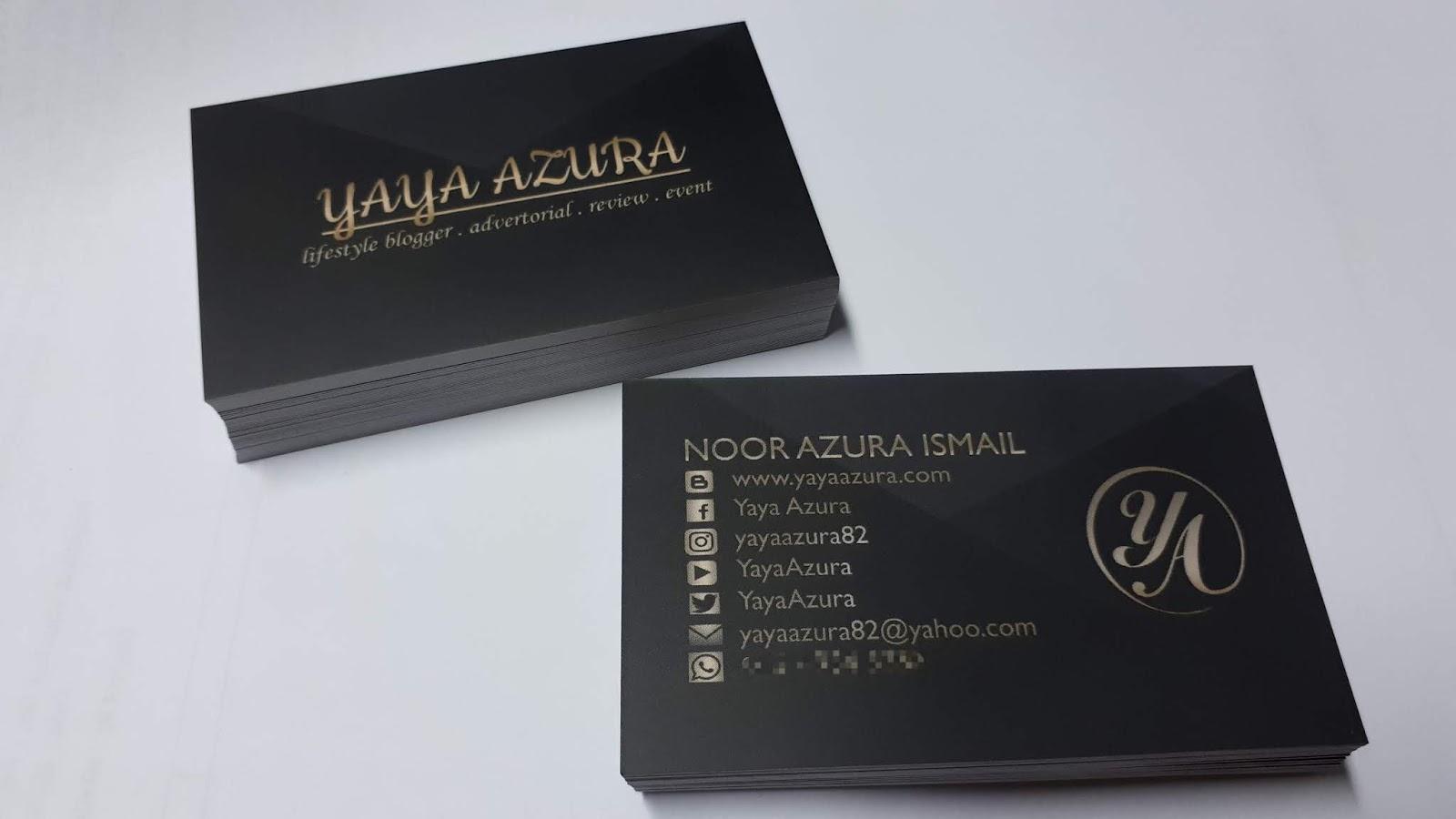 Business Card Dari Bg Design