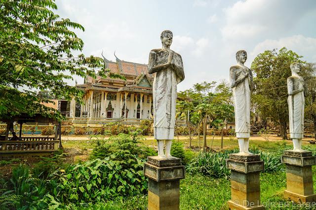 Wat Ek Phnom - Campagne de Battambang - Cambodge