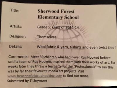 Tapis de l'école Sherwood Forest