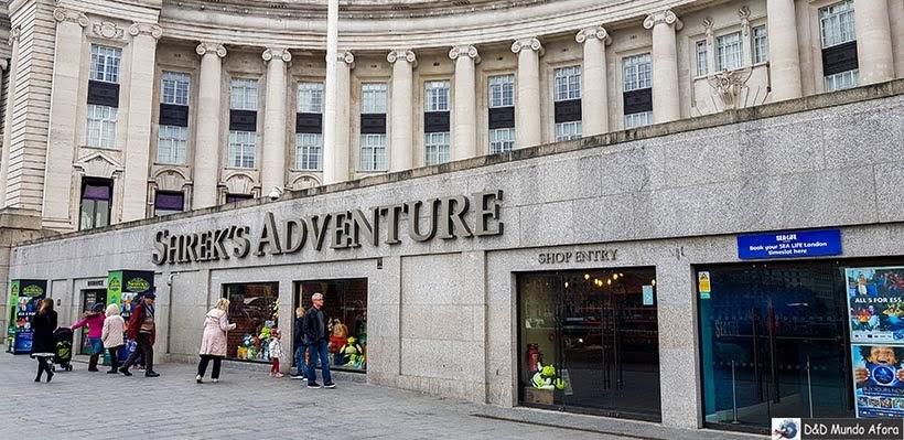 Sherek's Adventure - O que fazer em Londres: 48 atrações imperdíveis