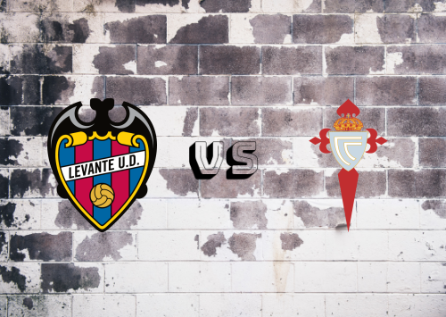 Levante vs Celta de Vigo  Resumen