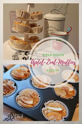 Rezept Apfel-Zimt-Muffins
