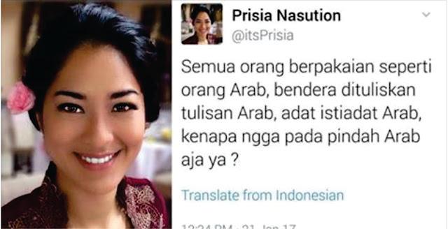 Subhanallah... Mengharukan, Inilah Surat Dari TKI di Arab Saudi Untuk Mbak Prisia Nasution
