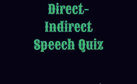 Narration quiz for SSC, BANK. Direct-Indirect speech quiz for SSC, BANK