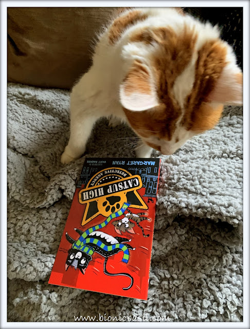 Book Reviews with Amber  #145 ©BionicBasil® The Catsup High Detective Agency