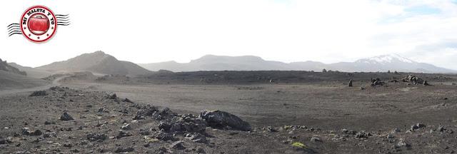 Camino a Landmannalaugar. Volcán Hekla