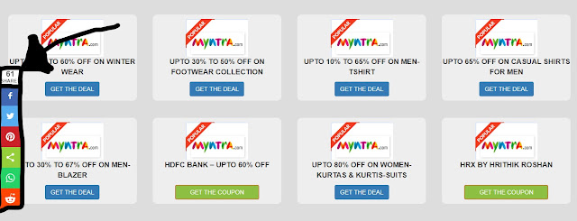 myntra coupons code today