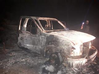Mistério de um Incêndio na estrada vicinal em António Almeida do Piauí que liga na PI 240.