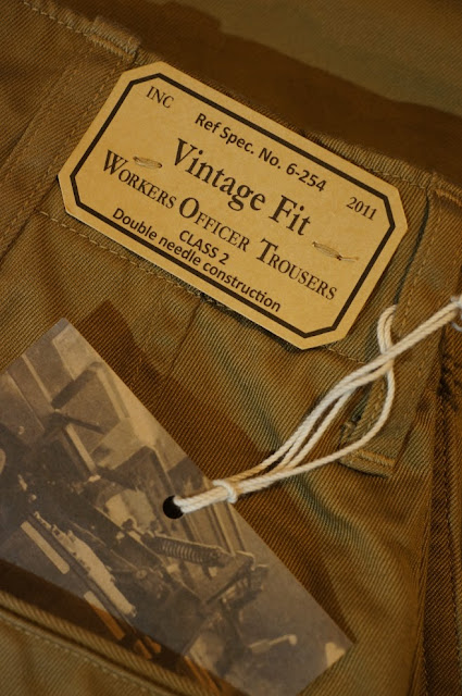 Workers  Workers Officer Trousers Vintage Type 2   USMC Khaki