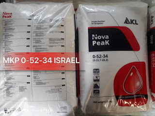 Kết quả hình ảnh cho PHÂN MONO KALI PHOSPHAT NOVA PEAK, MKP 52-34 – ISRAEL