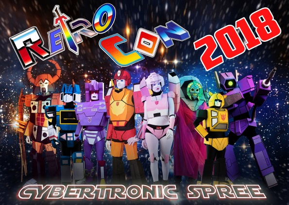 Cybertronic Spree Returns to Retro Con for a Third Straight Year!
