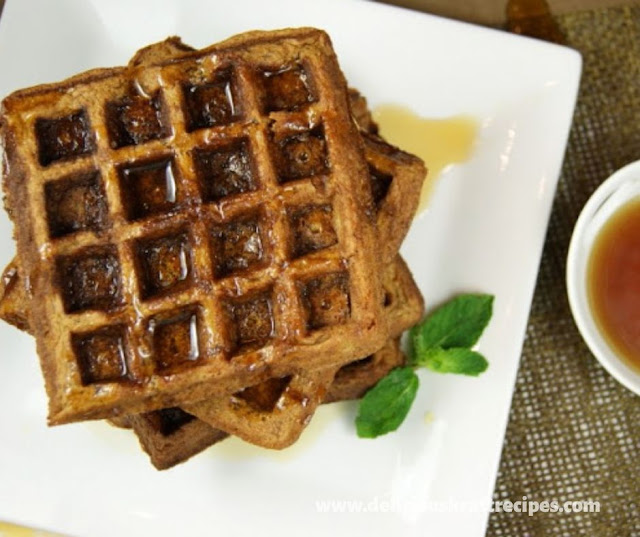 GINGERBREAD WAFFLES RECIPES