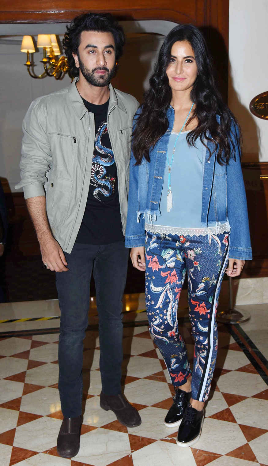 Ranbir Kapoor and Katrina Kaif for Promotion of 'Jagga Jasoos' In Delhi