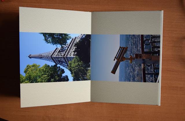 Recenzje #18 - Fotoksiążka firmy Saal Digital - dwie źle wydrukowane strony fotoksiążki - Francuski przy kawie