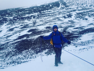 Cairngorm winter mountaineering