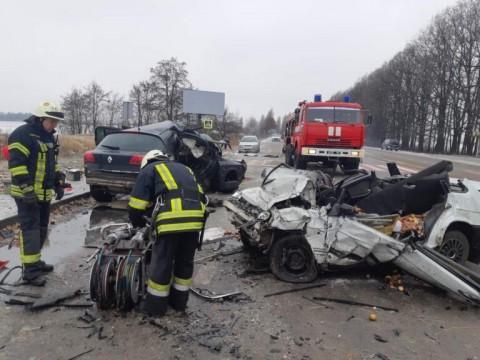 У ДТП на Обухівщині загинув водій