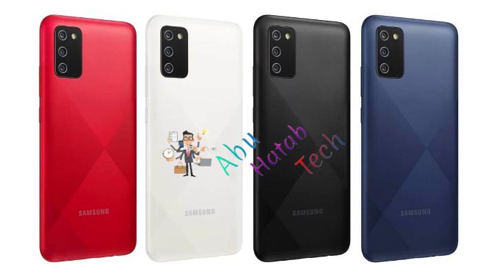 شكل الجهاز Samsung Galaxy A02s
