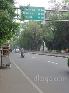 Jalan Daan Mogot, Tangerang