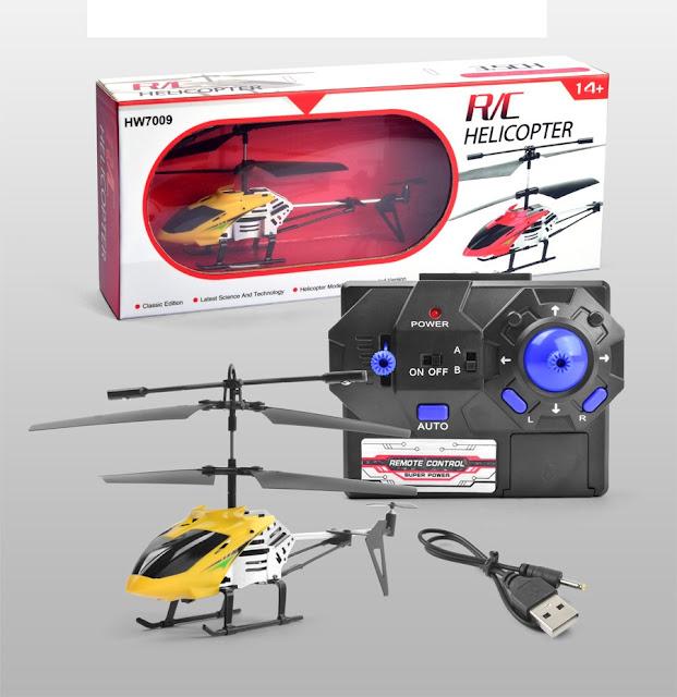 Máy bay trực thăng điều khiển từ xa 3.5 kênh HW7009