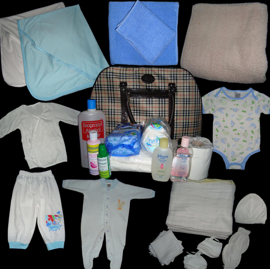 232a31a560243 تحضير شنطة الولادة ليكى وللبيبي فى البيت صور وفيديو راااائع