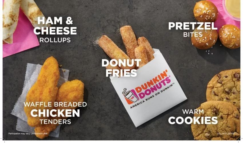 Dunkin Donut Tests New Donut Fries Brand Eating
