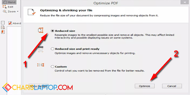 Cara Memperkecil PDF dengan Nitro PDF