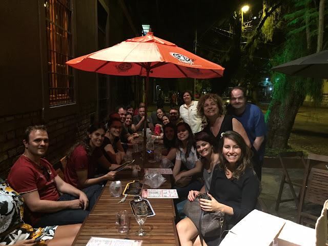 Tchêncontro na Toca da Coruja em Porto Alegre