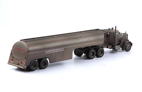 peterbilt 281 1:43 the duel flammable, camiones 1:43, camiones americanos 1:43, coleccion camiones americanos 1:43, camiones americanos 1:43 altaya españa