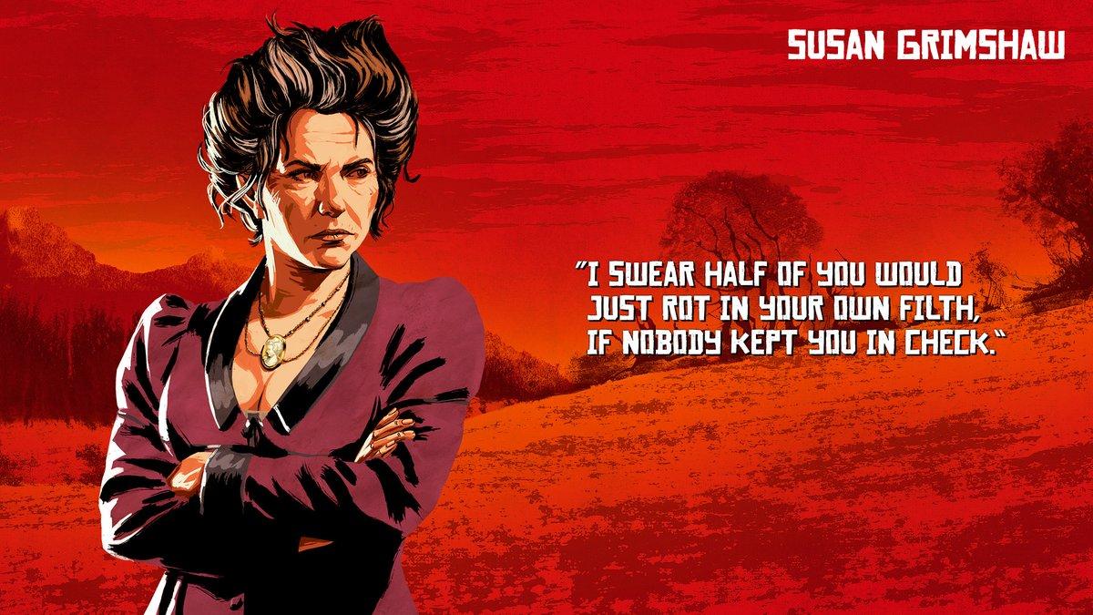 Susan Grimshaw - Red Dead Redemption 2
