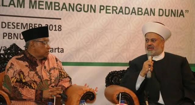 900 Pemuka Agama Dunia Pilih Ketum PBNU sebagai Wakil Presiden Religion for Peace