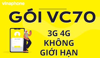 Gói VC70 Vinaphone