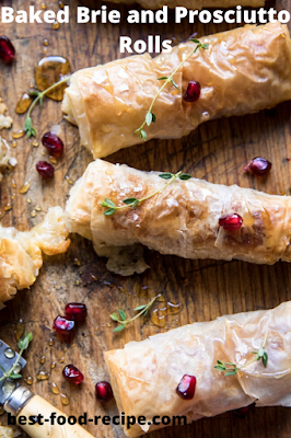Baked Brie and Prosciutto Rolls Recipe