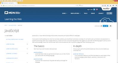 best JavaScript documentation for beginners