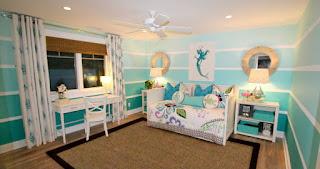 dormitorio tema sirenas