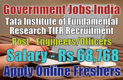 Tata TIFR Recruitment 2019