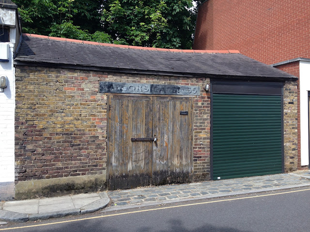 Ghost sign, Corsica Street, Islington, London N1