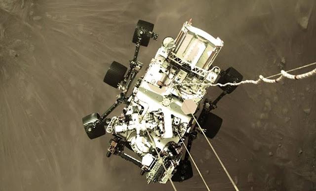 NASA difunde video del aterrizaje en Marte