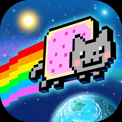 تحميل لعبه Nyan Cat: Lost In Space مهكره اخر اصدار