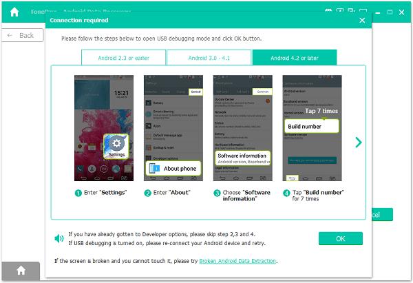 sambungkan Android kamu ke komputer melalui Kabel USB