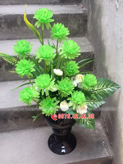 Hoa da pha le o Ba Dinh