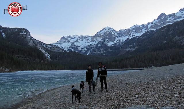 En el Lago Tovel, Dolomitas