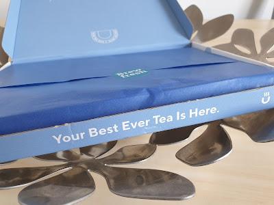 Blue Tea Box