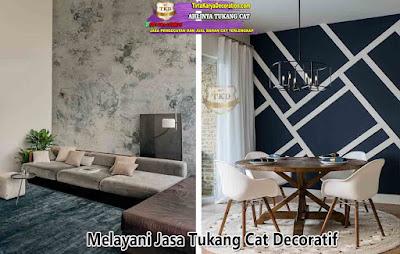 Jasa Tukang Cat Dekoratif Murah