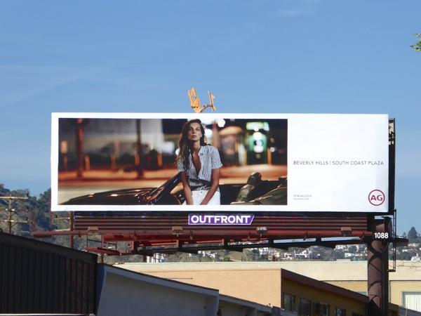 AG Jeans Spring 2016 billboard