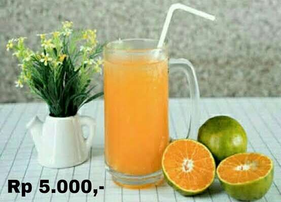 usaha jeruk peras murni