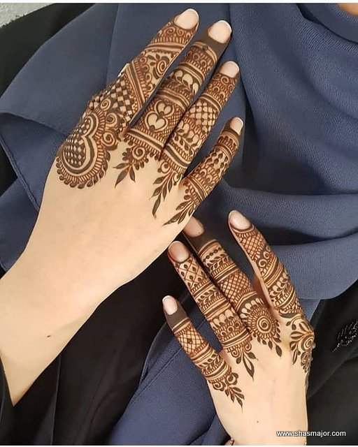 19 Unique Simple Mehandi Designs Collection In 2019