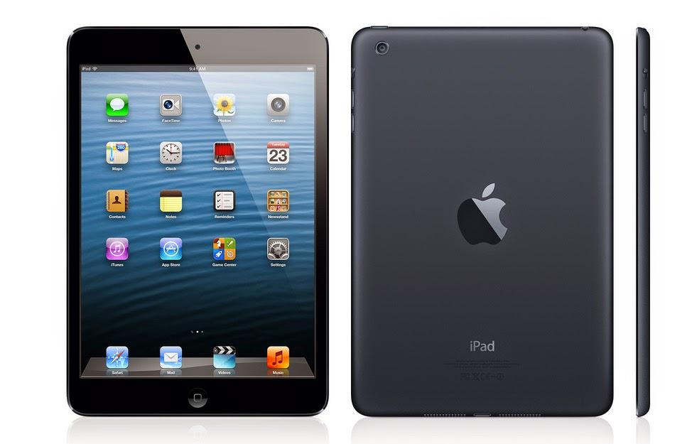 Harga iPad Mini, iPad Air dan Spesifikasi Terbaru 2015
